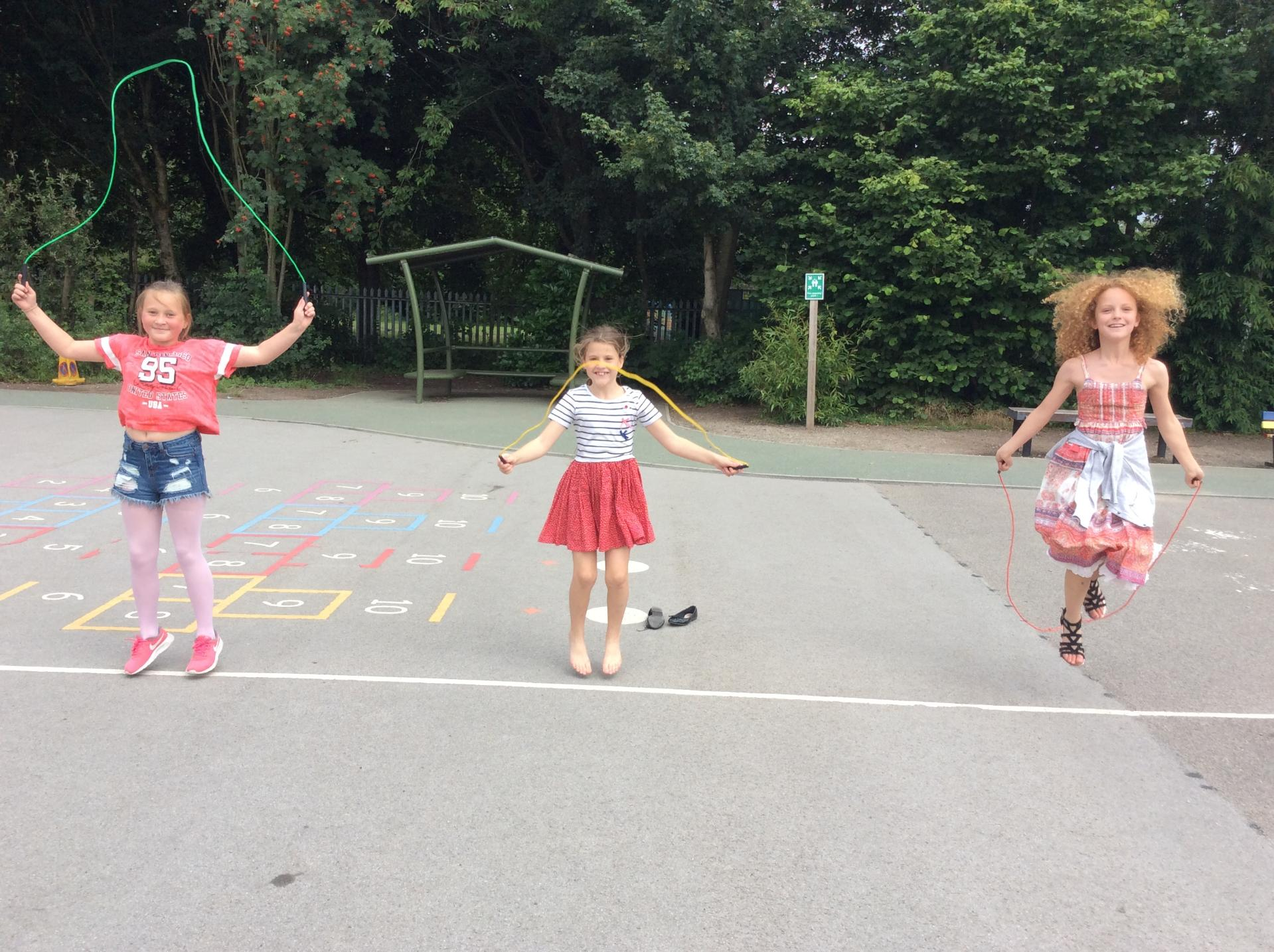 Jump Rope for Heart July 2017